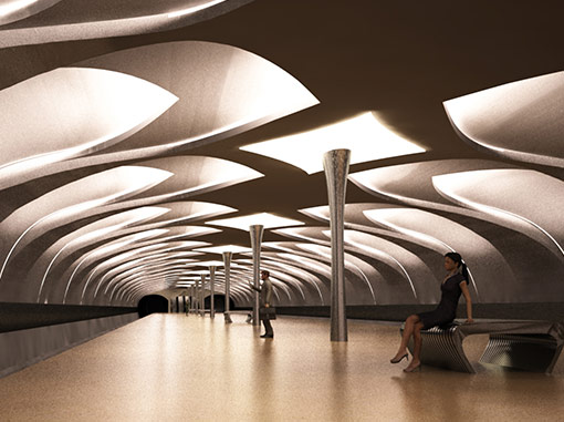 Проект метро. Работа №4